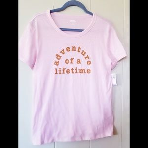 Old Navy Adventure of a Lifetime Tee, NWT Large